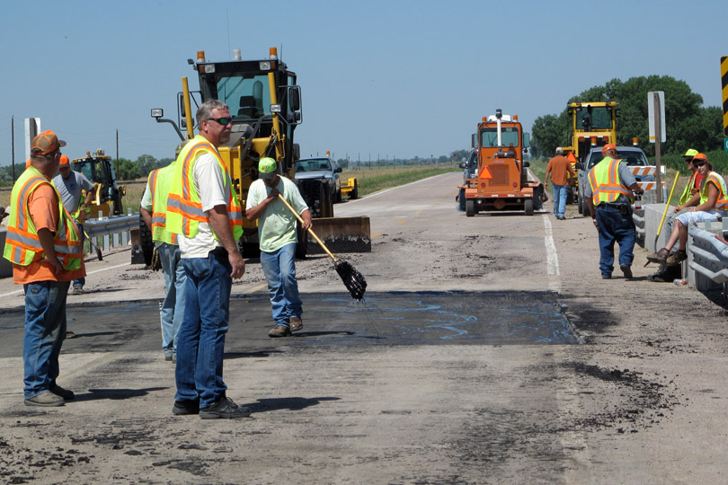 Road Workers in Orlando